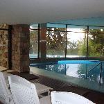 parte interna da piscina