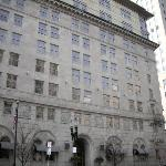 The Back Bay Hotel - was the Old Boston Police Headquarters - my room was on the 4th floor on th