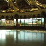The Hare Krishna temple