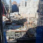 Vista de la Cnstruccion del WTC desde el Piso 16