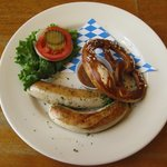 Munchner Weisswurste - From the Bavarian sausage heaven! Two of Munich's famous white sausages (