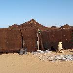 Auberge Derkaoua - Sahara - out tent