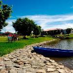 En Nuestro Lago podrás Disfrutar con sus hijos de una Tarde de pesca y el chef le podrá preparar