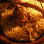 un piatto di Seffa Jama