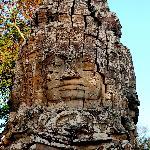 Faces in stone at Angkor