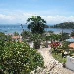 View on the superb Bay and Marina of Samana