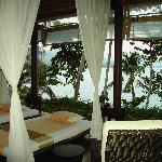 Vey relaxing open air spa/massage overlooking sea