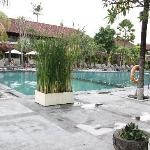 main pool area near deluxe rooms
