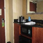 Kitchenette near entry