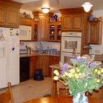 Homey kitchen