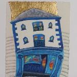 Painting of the restaurant by Ian Rolls, local artist