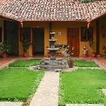 Posada del Doctor - courtyard