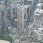 Flatiron from atop of the Empire State Building