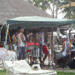 THE AFTERNOON BAND PLAYING NEAR THE BEACH
