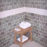 Seating Area in Shower