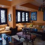 Tea Room off the dining area