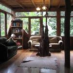 The main lodge room