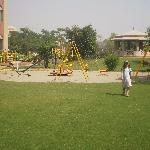 Playground area, well maintained