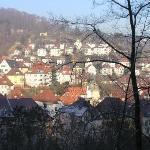 Stuttgart A hill of houses in Stuttgart