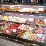 il bancone dei dolci