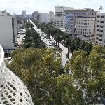 Avenue Mohamed V dalla camera