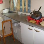 Kitchen - the way we found it!