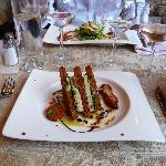 Le club de foie gras au pain d'épices