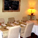 La salle intérieure lors du banquet