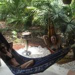 hammocks at casa pelicano @ casasa pura vida