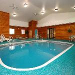 The pool room is a great place to relax or have fun.