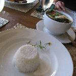 cuisine - rice and pork sinigang