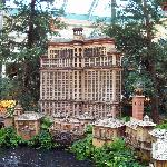 A mini version of the Bellagio