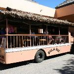 Bula bus - free shuttle between Sheraton and Westin