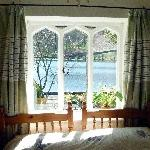 The view over Rydal Water from our bedroom