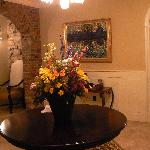 Foyer Flowers (fresh flowers all over Inn)