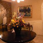 Foyer Flowers (fresh flowers all over Inn)