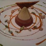 Three chocolate mousse