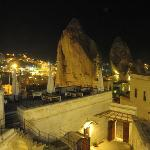 View of Goreme from our balcony