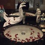 Petals in the sink