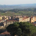la vista da San Sebastiano