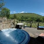 The hot tub and Winhill