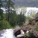 Waterfall at the Villas