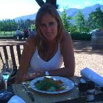 me at lunch on a farm nearby