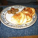 Cloud Cakes & Chicken sausage