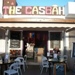 The Casbah round the back of the harbour