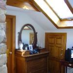 guest room with still another skylight