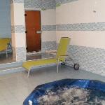 Jacuzzi y baño turco