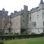 Glenap Castle for afternoon tea