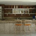 the hotel bar, where you can drink your caipirinha...