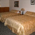 remodeled double queen room
